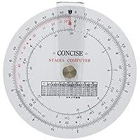CONCESS 规尺 圆形计算尺 录音室