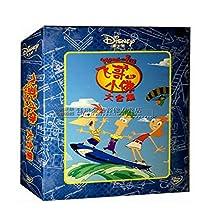 正版迪士尼动画片光盘 飞哥与小佛 合集 15DVD碟片 中英双语 字幕