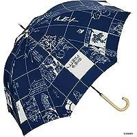 世界派对(Wpc.) 迪士尼雨伞 长柄伞 *蓝 58cm 女款 爱丽丝/窗珠 DS047-09 NV