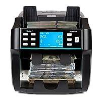 Kolibri Signature 2 口袋商务级混合钞票计数器、分拣机和阅读器,带拒绝口袋,假冒检测,内置打印机