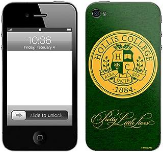 Zing Revolution Pretty Little Liars 优质乙烯基胶粘皮肤,适用于 iPhone 4/4S,Hollis (MS-PLL120133)