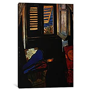iCanvasART 11173-1PC3-40x26 Interior with a Violin Canvas Print by Henri Matisse, 0.75 x 26 x 40-Inch