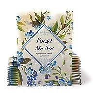 复古外观 - Individual Forget Me Not Flower Seed Packet Favors - Ready to Grive - 20 件装
