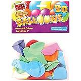 聚会 Crazy 大圆形气球 (20件) P 20er-Packung verschieden