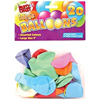 Party Crazy 气球,圆形,大号,20 件 20er-Packung 不同