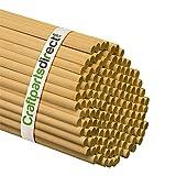 "Wooden Dowel Rods - 5/16"" x 36"" Unfinished Hardwood Sticks - For Crafts and DIY'ers - Craftparts Direct - Bag of 10"