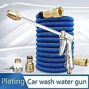 家用高压浇水喷嘴,洗车,花园浇水窗户清洁,附带柔性软管