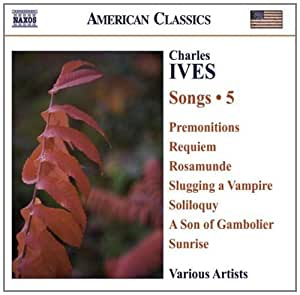 进口CD:艾夫斯:歌集,卷5 Ives,C.:Songs,Vol.5(CD)8.559273