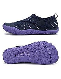 男童和女童水鞋轻质舒适鞋底易于行走运动一脚蹬水袜(幼儿/小童/大童)