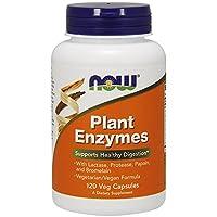 NOW Foods - 植物酵素 - 120 素食胶囊