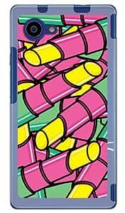 YESNO 口红 黄色(软TPU透明) / for Disney Mobile on docomo DM-01H/docomo DSHD1H-TPCL-701-Q016