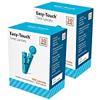 EasyTouch 扭转刀 - 30 G - (每盒 100 个) 200 Count