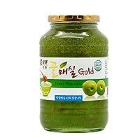 全贤 蜂蜜青梅茶1kg 韩国原装进口青梅酱冲饮蜜炼茶果肉饮料