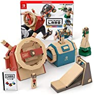 任天堂 Nintendo Labo Toy-Con: Vehicle Kit-Switch 驾驶套装 (无亚马逊限定配件 , 需要配合switch主机)