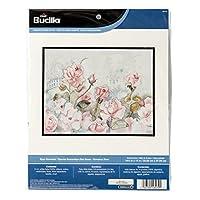 Bucilla 十字绣套装,36.83 x 27.94 cm,46470 玫瑰花