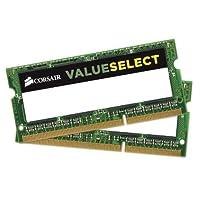 Corsair CMSO8GX3M2C1600C11 8GB (2x4GB) 1600MHz PC3-12800 204-Pin DDR3 SODIMM 笔记本电脑内存 1.35V