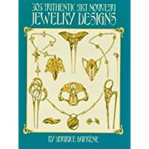 305 Authentic Art Nouveau Jewelry Designs (Dover Jewelry and Metalwork) (English Edition)