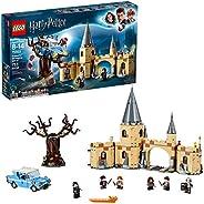 LEGO 乐高 哈利·波特与密室霍格华兹打人柳75953魔法玩具积木套装,阿兹卡班的囚徒, 海德薇, 赫敏 格兰杰和西弗勒斯·斯内普(753件)