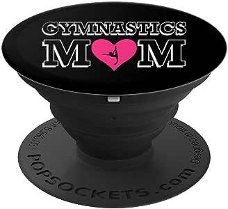 Love Gymnast Mother Heart PopSockets260027  黑色