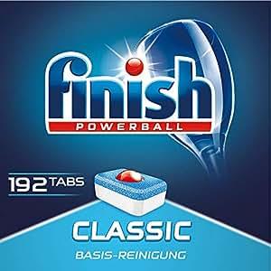 Finish 亮碟 洗碗机专用洗涤块 192块
