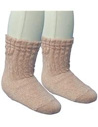 婴儿物语 水手袜 混色宽松 不易脱落 日本制造 粉色 9-12cm