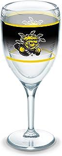 Tervis 1292217 维奇塔州立大学震惊队原装玻璃杯,带包装,236.56 毫升*杯,透明