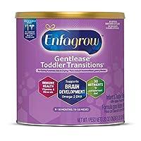 Enfagrow 美贊臣安兒寶 Toddler Transitions Gentlease 舒緩配方 防脹氣、煩躁哭鬧 罐裝 20盎司/567克