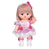 日本Mellchan咪露 娃娃玩具女孩玩具洋娃娃过家家玩具 宝贝中发咪露 MELC274781(适合3-8岁)包装尺寸19*29*11cm