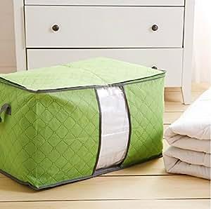 多彩竹炭棉被收纳袋 彩色衣物储存整理袋被子收纳储物袋