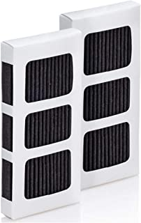 "Frigidaire PAULTRA2 冰箱空气过滤器 PureAir Ultra II(美国制造) 白色 3-3/4"" x 2-3/4"" x 3/8"" PAULTRA2"