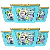 Bold 洗衣液 凝膠圓珠3D 清爽的高級潔凈香氣 18個×6 6