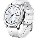 Huawei 华为 Watch GT 智能手表 (AMOLED 触摸屏,GPS,健身跟踪,心率测量,5 ATM防水)55023877 Watch GT Elegant 42mm 白色