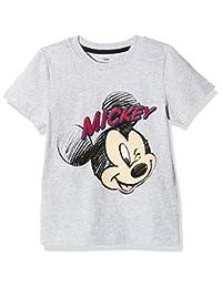 Disney 迪士尼童装 男童 针织短袖T恤 KVM8M2KTKB2214XA