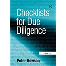 Checklists for Due Diligence (English Edition)