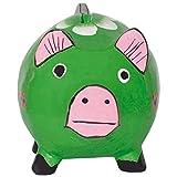 laroom 12499 猪存钱罐 - 绿色