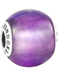 Pandora 潘多拉 丹麦品牌 时尚精致Essence信念紫水晶串珠 796006SAM