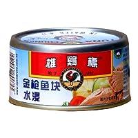 Ayam Brand 雄鸡标水浸金枪鱼块185g*3(泰国进口)