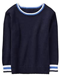 Gymboree 男宝宝条纹装饰毛衣