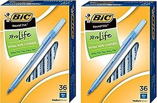 BIC 圆形 stic XTRA LIFE 圆珠笔,中号点