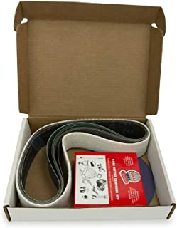 VMTW 多功能工具 美国 5.08 cm x 121.92 cm 皮带,17.78 cm 圆盘 - 金属工作带和圆盘入门套件