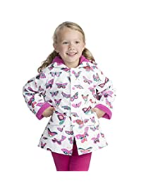 Hatley 女童印花 raincoats