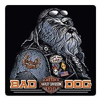 Harley-Davidson Bad Dog Bar & Shield 压花锡标志,36.83 x 36.83 cm 2011791