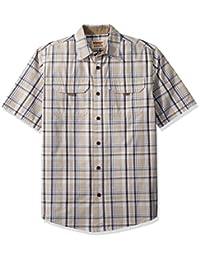 Wrangler Authentics Authentics 男式短袖帆布衬衫