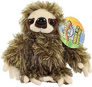 Adventure Planet 毛绒玩具 - 棕色树懒(6 英寸)