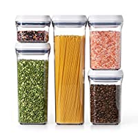 OXO 5-Piece Good Grips Pop Containers Set