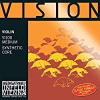 Thomastik-Infeld VI100.12 Vision Violin Strings, Complete Set, 1/2 Size