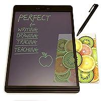 New Boogie Board 绘图平板黑板:Learning Resources 家庭教师用品非常适合记笔记绘画板的感觉就像纸和铅笔,8.5x11BD0160B2C