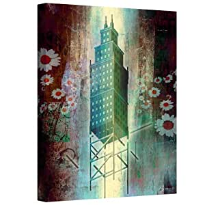 Art Wall Greg Simanson 'Spring Time in The City' Gallery Wrapped Canvas Art, 18 by 24-Inch