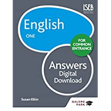 English for Common Entrance One Answers (GP) (English Edition)