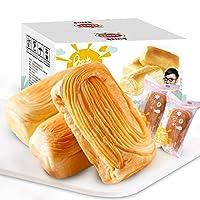 口水娃夹心面包营养早餐食品小吃蛋糕小糕点零食批发整箱1KG